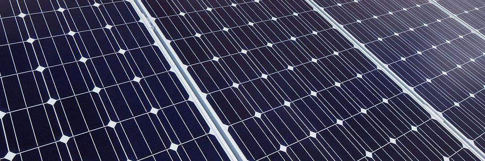 Das Bild eines Modulares Photovoltaikanlage Paketes.