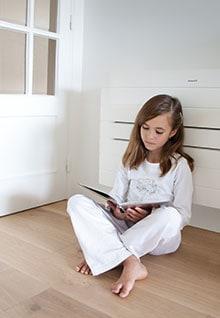 Genießen Sie den Komfort einer Klimaanlage in Ihren Wohnräumen.